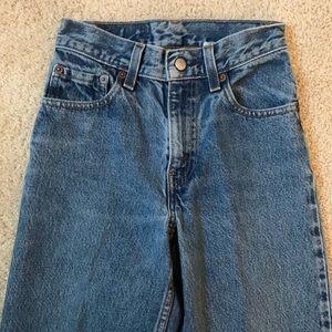 Levi's 550 jeans size 23